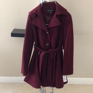 INC Cabernet Coat NEW